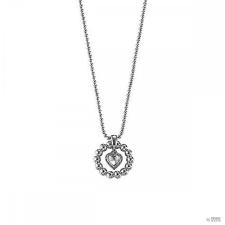 Esprit Női Lánc nyaklánc ezüst cirkónia Pellet szív ESNL92073A420 nyaklánc