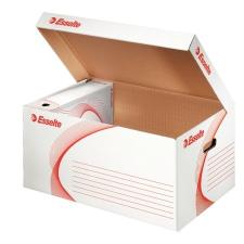 """ESSELTE Archiváló konténer, karton, felfelé nyíló,  """"Standard"""", fehér irattartó"""