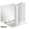 ESSELTE Gyûrûs könyv, panorámás, 4 gyûrû, D alakú, 65 mm, A4, PP/PP, ESSELTE, fehér