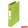 """ESSELTE Gyűrűs könyv, 2 gyűrű, 42 mm, A5, PP/PP,  """"Standard"""", Vivida zöld"""