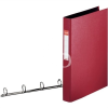 "ESSELTE Gyűrűs könyv, 4 gyűrű, 42 mm, A4, PP/PP, ESSELTE ""Standard"", bordó"