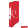 "ESSELTE Gyűrűs könyv, 4 gyűrű, 42 mm, A4, PP/PP, ESSELTE ""Standard"", Vivida piros"
