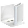 ESSELTE Gyűrűs könyv, panorámás, 2 gyűrű, D alakú, 46 mm, A5, PP/PP, , fehér