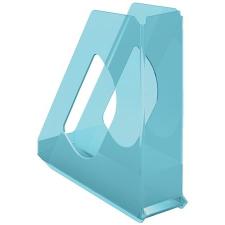 "ESSELTE Iratpapucs, műanyag, 68 mm, ESSELTE ""Colour`Ice"", kék női papucs"