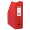ESSELTE Iratpapucs, PP/karton, 100 mm, összehajtható, ESSELTE, Vivida piros (E56073)