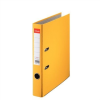 "ESSELTE Iratrendező, 50 mm, A4, PP/karton, élvédő sínnel, ESSELTE ""Economy"", sárga"