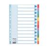 ESSELTE Regiszter, karton, A4, 12 részes, írható előlappa