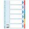 """ESSELTE Regiszter, karton, A4, 6 részes, írható előlappal, ESSELTE """"Standard"""", színes (E100192)"""