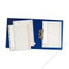 ESSELTE Regiszter, műanyag, A4, A-Z, ESSELTE, szürke (E100112)