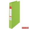 """ESSELTE """"Standard"""" Vivida A4 42 mm 2 gyűrűs PP zöld gyűrűskönyv"""