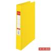 """ESSELTE """"Standard"""" Vivida A4 42 mm 4 gyűrűs PP sárga gyűrűskönyv"""