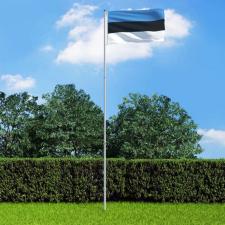 észt zászló alumíniumrúddal 6 m dekoráció