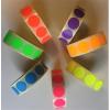 . Etikett, 20 mm kör, 1000 etikett/tekercs, lila