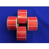 Etikett, thermo, 25x45 mm, 1000 etikett/tekercs, piros