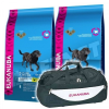 Eukanuba Mature & Senior Large Breed 2x15kg +Sporttáska