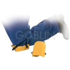 Euro Protection Sárga csúszásbiztos poliuretán térdvédõ