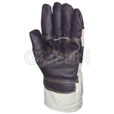 Euro Protection Védõkesztyû színmarha tenyérmegerõsítéssel, szõrmebéléssel, 6 pár