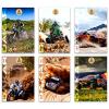Eurocom Dakar: négyzetrácsos füzet - A4, 87-54, többféle
