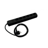 Eurolite Distributor 6-fold + 2 USB bk