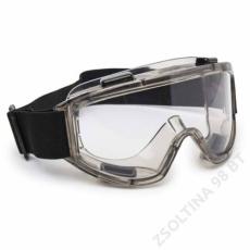 EuroProtection OMEGA víztiszta gumipántos védőszemüveg
