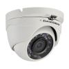 "EuroVideo 1080p TVI dome kamera, 1/2,7"" CMOS, 2,8 mm optika, 20 m IR, DNR, OSD, D-WDR, IP66, 12 VDC"