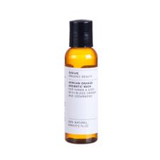 Evolve Organic Beauty Afrikai narancs – mini folyékony szappan és tusfürdő 60 ml tusfürdők