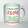 Évszámos bögre 41, 1974.