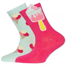 EWERS mintás zokni lányoknak 23-26 többszínű gyerek zokni
