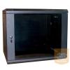 """Excel-Networking Excel WBFP18.390SGB 18U 600X390mm mély 19""""-os fali rack szekrény, fekete színben"""