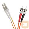 Excel-Networking Optikai duplex patch kábel LC-ST 50/125 OM2 2m (200-177) EXCEL