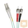 Excel-Networking Optikai duplex patch kábel LC-ST 50/125 OM3 5m (200-070) EXCEL