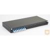 Excel-Networking Optikai patch panel 1U SM LC duplex 24 port, 8 LC duplex toldóval töltve (200-472) EXCEL