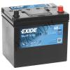 EXIDE EFB 60Ah 520A (EL604) Jobb+