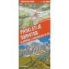 Expressmap Prokletije, Durmitor, Albán- és Montenegrói Alpok trekking térkép