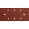 Extol csiszolópapír, lyukas klt. 10db, 93×190 mm, P40, 407112/407113/407115-höz (Csiszolópapír)
