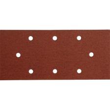 Extol csiszolópapír, lyukas klt. 10db, 93×190 mm, P60, 407112/407113/407115-höz (Csiszolópapír) barkácsolás, csiszolás, rögzítés
