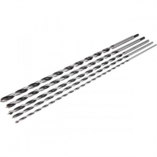 Extol fafúró klt., bliszteren; 5db, 600/450mm × 6-8-10-12-14mm, normál befogás fúrószár