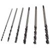 Extol fafúró klt., műanyag tartóban; 6db, 300mm×6-8-10-12-13-14mm