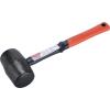 Extol gumikalapács üvegszálas nyéllel, fekete gumi ; 70 mm, 0,68 kg (Gumikalapács)