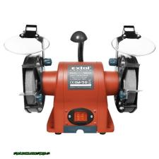 Extol kettős köszörűgép 350W, száraz, 150×12,7×20mm, (P36, P80), 2950 ford/perc, 9kg, lámpával 8892110 köszörű
