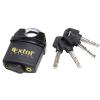 Extol Premium biztonsági lakat, levágás elleni védelemmel, festett, vízálló, 4db kulcs; 50mm (885775