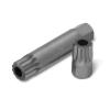 """EXTOL PREMIUM EXTOL BIT klt. 51 db HEX-TORX-XZN, 10mm+14mm, 3/8+1/2"""" adapterek, S2 acél, műanyag dobozban"""