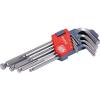 EXTOL PREMIUM L-kulcsok IMBUSZ, 9 db-os készlet, 1,5-10 mm, Bondhus-golyóval,