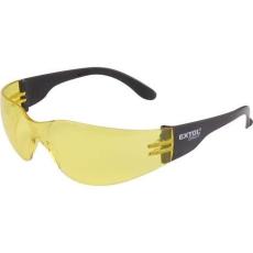 Extol Védőszemüveg, sárga