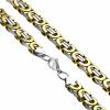 Extreme Silver Nemesacél nyaklánc / 55 cm