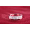 Ezüst színű köves gyűrű