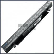 F550LA 2200 mAh 4 cella fekete notebook/laptop akku/akkumulátor utángyártott asus notebook akkumulátor