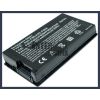 F80Q-A1 4400 mAh 6 cella fekete notebook/laptop akku/akkumulátor utángyártott