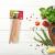 Fa evőeszköz készlet, villa, kanál, kés, 12 db