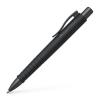 "Faber-Castell Golyóstoll, nyomógombos tolltest, fekete tolltest, FABER-CASTELL ""Poly Ball Urban"", kék"